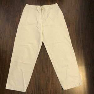 Gap khakis factory pants tapered 35X30 actual 34W